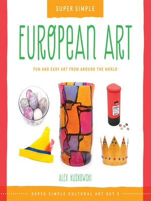 cover image of Super Simple European Art
